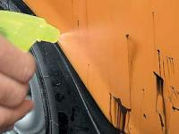 Отмывание битума с машины